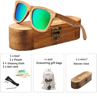 2019 Handmade Vintage Wood Sunglasses,Bamboo Wooden Polarized Sunglasses for Women,Green gafas de sol mujer