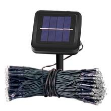 Solar-Light Chain-String Outdoor-Sensor Garden Garland Led Waterproof 10M IP44 Wall 100-Led