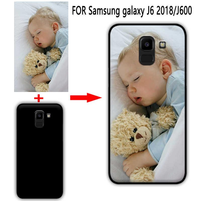 Mosirui Pribadi Disesuaikan Diy Case untuk Samsung Galaxy J6 Plus A7 J7 J8 2018 J600 UV Printing Cover Lembut TPU silicone Case