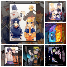 NARUTO NarutoXSasuke Anime manga wall Poster Scroll B