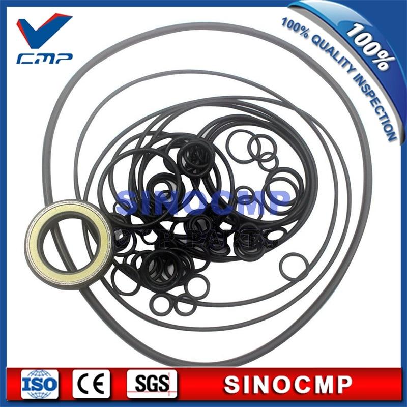 SINOCMP Repair Seal Kit for Volvo EC460BLC Excavator Parts EC460B Control Valve Repair Seal Kit 3 Month Warranty