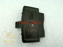 Оригинальный сменная деталь для Nikon D5100 USB/AV OUT/HDMI/микрофон резиновая заглушка для разъемов блок