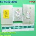 Adesiva dupla face adesivo cola 250um oca para iphone 5 5s 5c 5G Mit para formitsu reparação quebrado LCD touch screen oca laminador