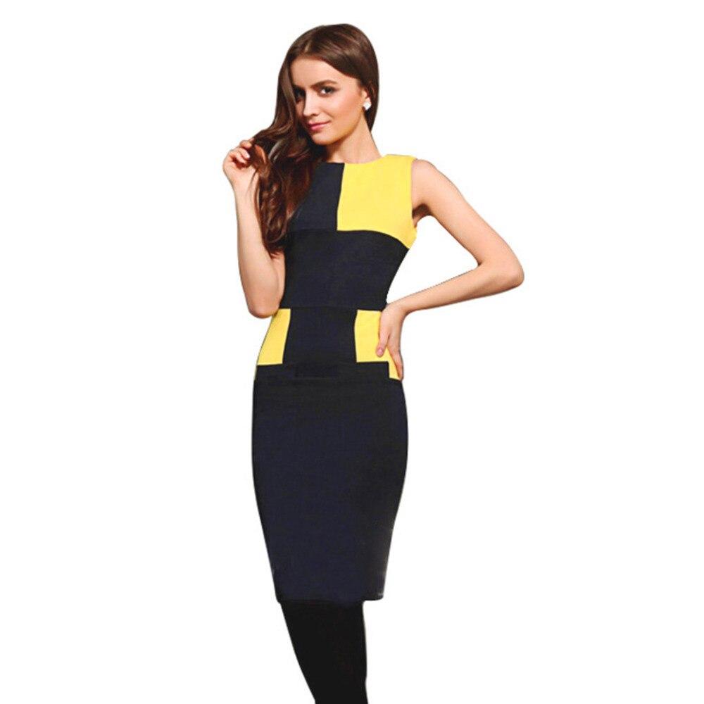 AAMIKAST Womens Elegant Pinup Rockabilly Fashion Bodycon Sheath Stretch Shift Wiggle Pencil Dresses