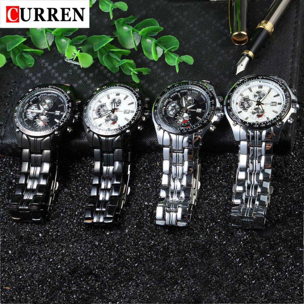 2018 New Curren 8083 Horloges Heren Luxe Merk Militaire Heren horloge - Herenhorloges - Foto 6
