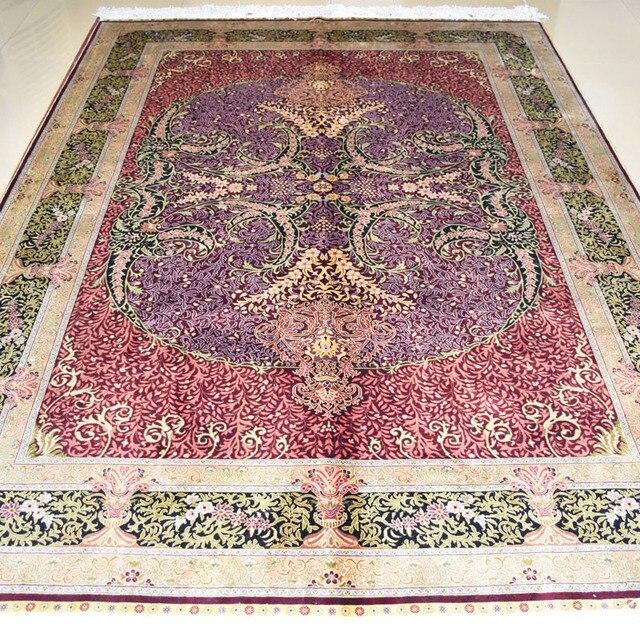 Favoloso Mingxin 5.5x8 metri Grande e moderno tappeto colore rosso tappeto  GT13
