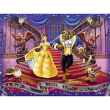 Beauty beast diamond Embroidery diy painting mosaic diamant 3d cross stitch pictures H664