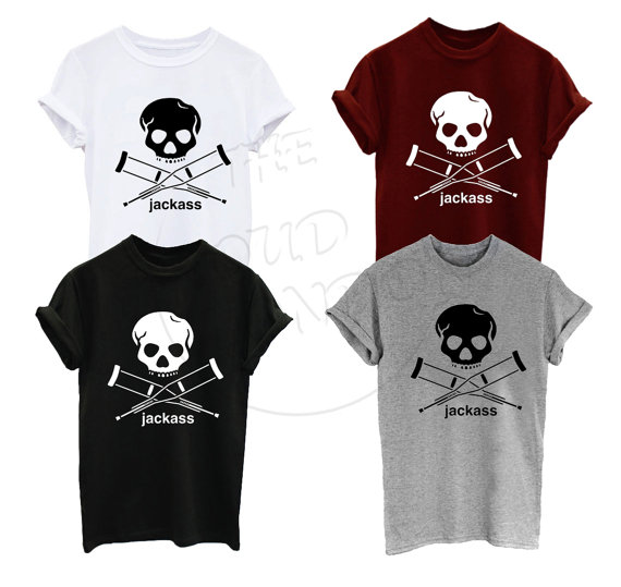 Jackass Stunt Ryan Dunn Jackass Pirate Movie Tumblr Funny Unisex Tshirt More Size And Colors-A282
