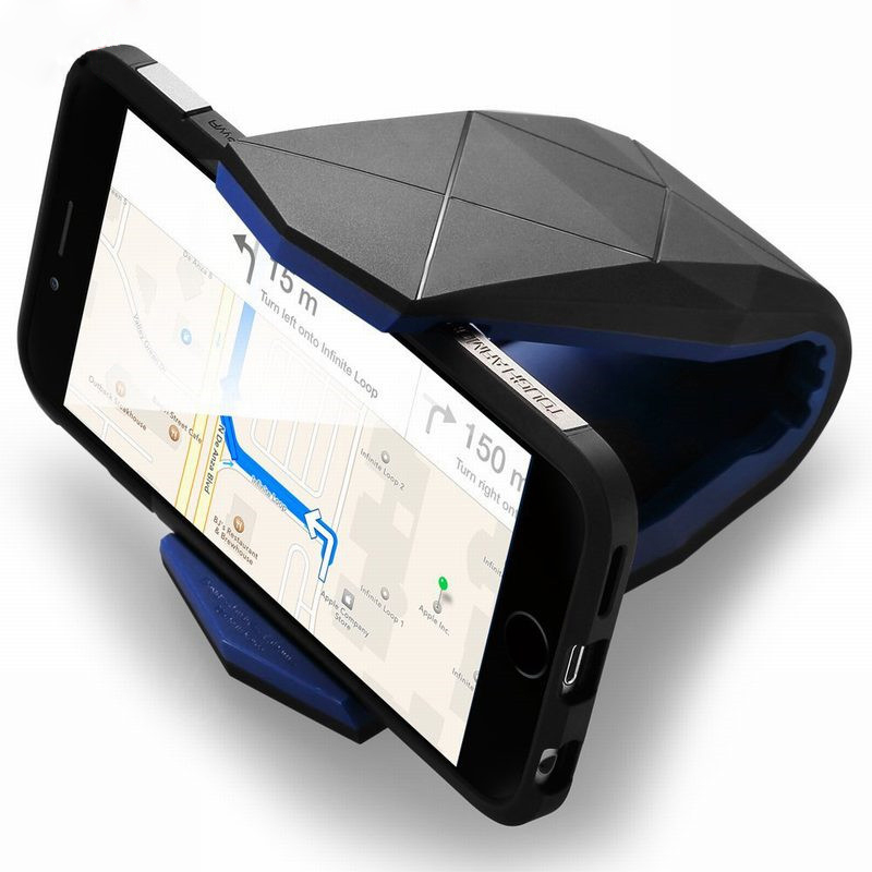 Universal Dashboard Car Phone Holder Stand Adjustable Alligator Clip Holder Car Dashboard Mobile Scaffold Cradle Mount Holder