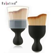 1 PCS Contour Foundation Brush S Shape Cream Makeup Brushes Loose Powder Brush Multifunctional Make Up Brushes With Protect Lid