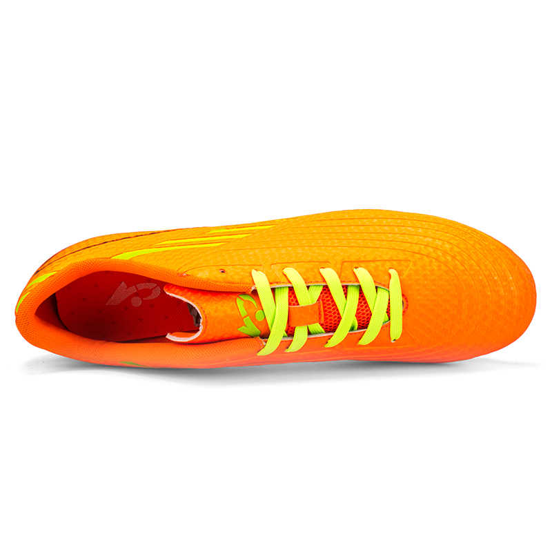 0a83418c02a ... Men Soccer Shoes Sport Ronaldo Breathable Women Spikes Professional  Boys Kids Superfly Cleats CR7 TF AG
