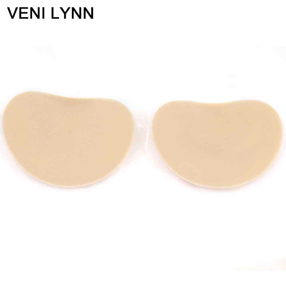 b05ff5b5c1 VENI LYNN Self-adhesive Push Up Breast Pads Removable Padded Foam Cups  Sticky Bra Inserts Silicone Padding for Swimsuits Bikini