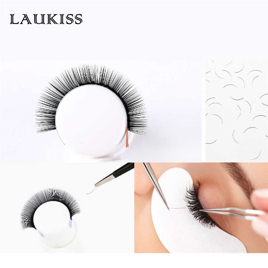 ec3082da559 ... False Eyelashes Extensions C/D Curl 1PC Individual Lashes Flat Fake  Lashes Extension for Professionals ...