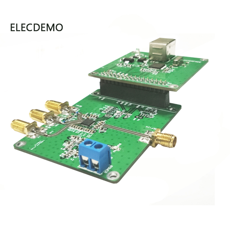 Image 2 - ADF5355 Module Official online position machine ADF5355 phase locked loop module RF signal source 54M 13.6G Function demo Board-in Demo Board Accessories from Computer & Office
