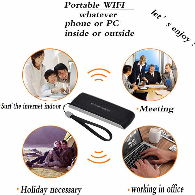 4G Lte موزع إنترنت واي فاي مودم USB موبايل برودباند هوت سبوت مقفلة دونغل سيارة موسع واي فاي مكرر ميفي عصا تاريخ بطاقة