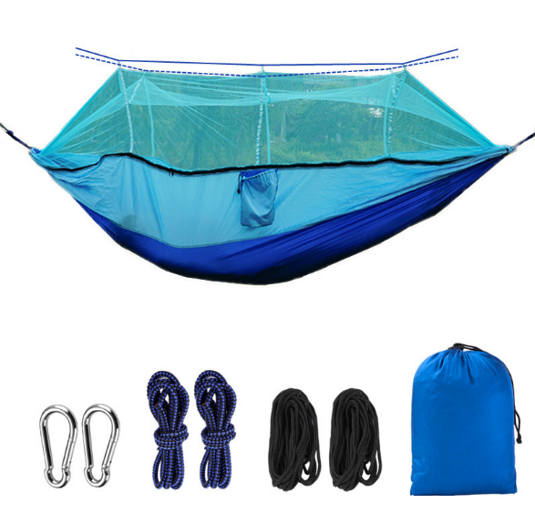 New Fashion Outdoor Nylon Parachute Cloth Double Camping Hammock Indoor Leisure Rocking Creative Simple Hammock Q357 parachute hammock parachute hammock double muebles exterior