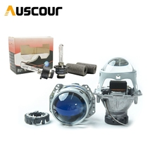 3.0inch hid bixenon projector lens hella 5 led day running DRL angel eyes mask xenon kit D1S D2S D3S D4S LHD for universal car