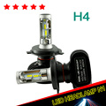 2017 New H4 Led Car Headlight Bulb CSP Chip 8000LM Bi Beam Automobile Super White 8000LM 12V Taxi Fog Led Conversion Kit 2pcs
