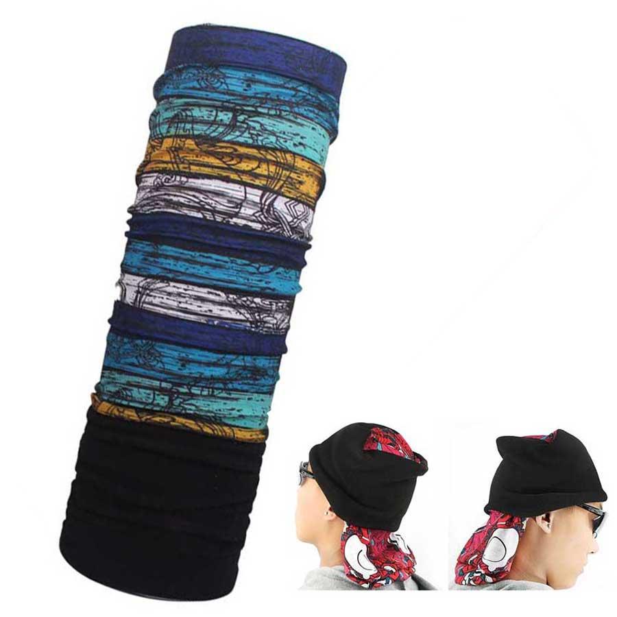 60pcsTC Buy Bulk Mens Winter Camouflage Bandanas Fleece Magic Infinity Scarf Womens Thermal Scarves Camo Balaclavas Tube Hood