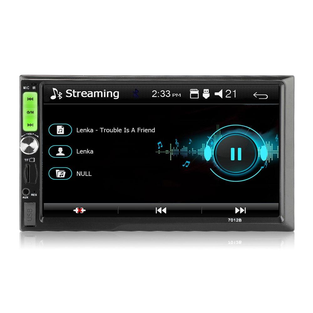 Vehemo 7 дюймов FM/USB/AUX MP5 плеер Авто MP5 плеер fm-радио Гибкая Поддержка заднего вида TF карта автомобиля MP5 плеер автомобиля стерео