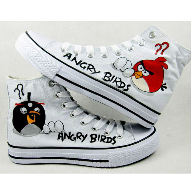 Naruto Hand Painted Canvas Shoes for Men Women