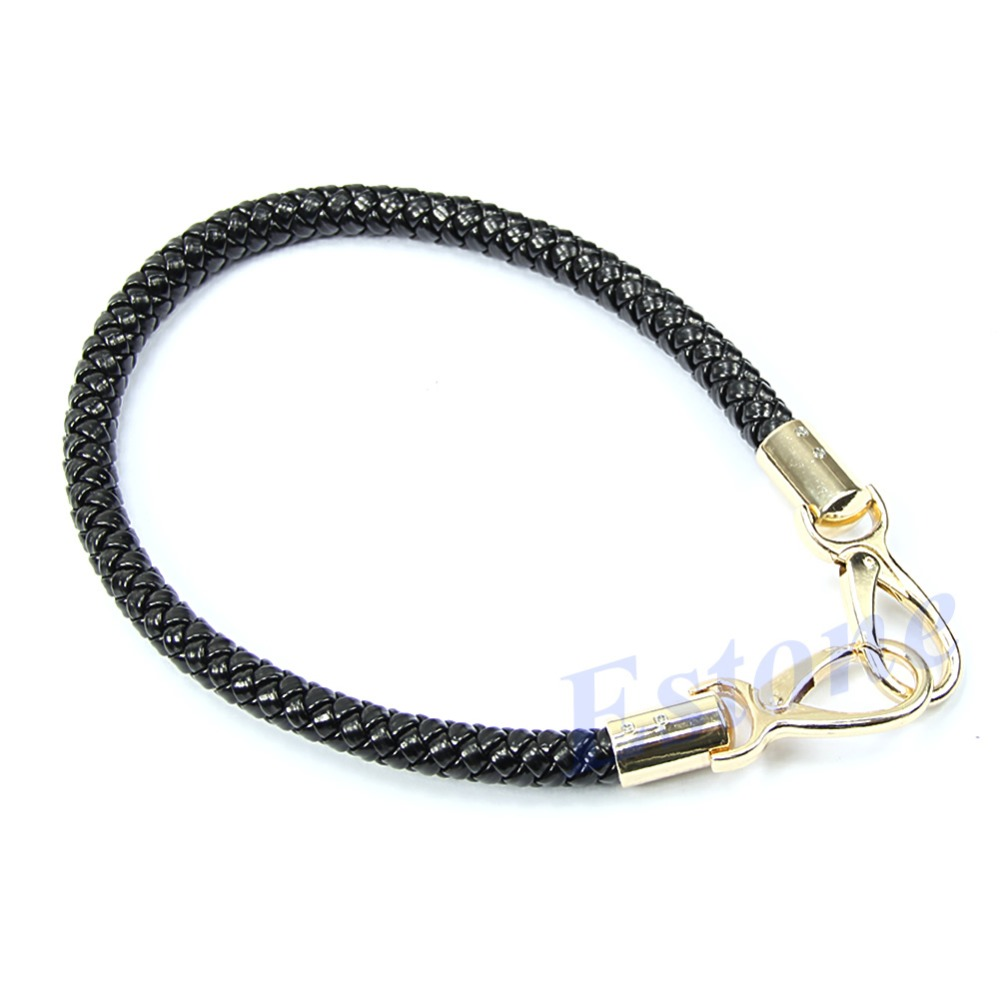 56CM New Round DIY Purse Handle Shoulder Bags Handbag Strap Replacement Synthetic Leather Handle 6 Colors