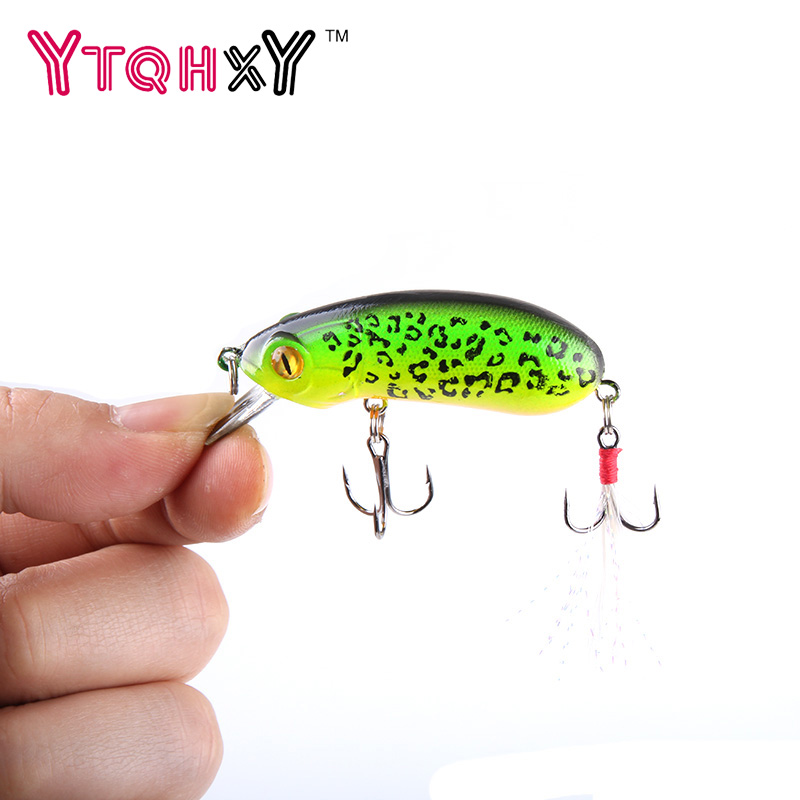 1Pcs 6cm 10g Fishing Lures Crank bait Swimming Crank Baits Artificial Swim bait Wobblers Fish Tackle YE-244