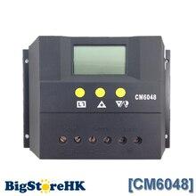60A контроллер заряда 48 В жк-дисплей PV аккумулятор контроллер заряда солнечных дом для использования внутри помещений CM6048