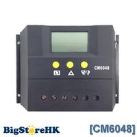 60A Solarladeregler 48 V LCD Display PV Panel Batterieladeregler Solarsystem Startseite Innenbereich CM6048