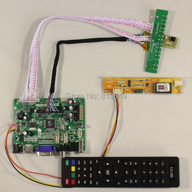 Details about  HDMI+VGA+AV+Audio+USB Controller board VST29.01B for 15.4LTN154P1 1680*1050 lcd hdmi vga av audio usb controller board for m201ew01 1680 1050 6ccfl lcd panel for raspberry