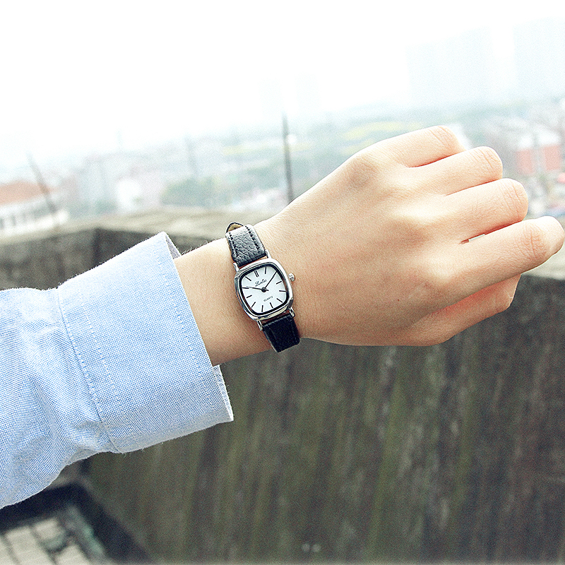 LUOBOS Hot Sale Square Style Women Watch Fashion Casual Leather Quartz Wristwatch Small Dial Ladies Analog Watches Relojes 2017