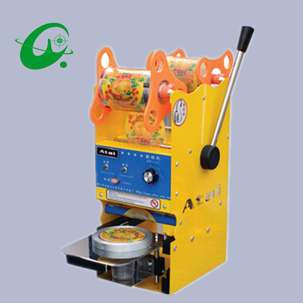 Stainless steel Sealing Cup machine by hand Used for PP PE PET ect. material 300~500Cups/H  цены