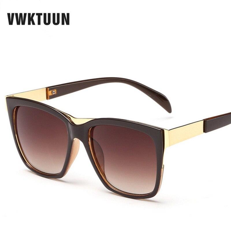 VWKTUUN Big Square Frame Sunglasses Women Men Sun Glasses Vintage Oversized Glasses Outdoor Sport Eyewear Male