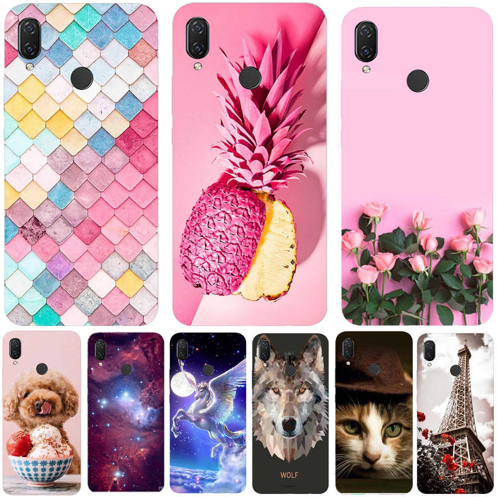 Phone Case Huawei Y9 2019 Case Silicone Soft TPU Carcasa Huawei Y9 2019 Cover Coque Funda Huawei Y9 2019 Back Cover Protector