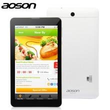 Nuevo-Llegada 4G LTE FDD Android 5.1 Teléfono de la Tableta de Aoson M701FD 7 pulgadas MTK8735M IPS Screen Quad Core RAM 1G ROM 8G Cámaras Duales de 5MP