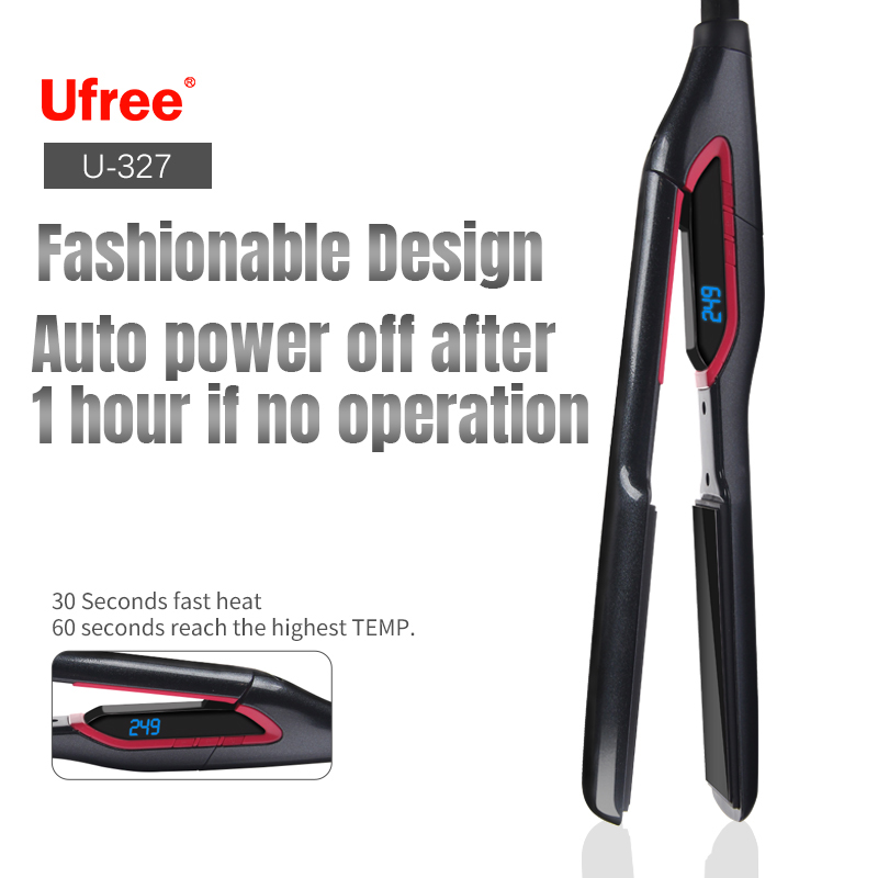 Ufree professional flat iron hair straightener fast