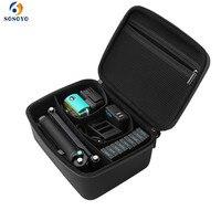 For Gopro Accessories Case bag Tripod Monopod Self stick Action Sport Camera bag for Gopro Hero 6/5/4/3 SJCAM SJ4000 Xiaoyi