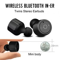 X1T Mini Truly Wireless Headphones Bluetooth V4 2 Stereo Surround Sound Earphones With Microphone For IPhone