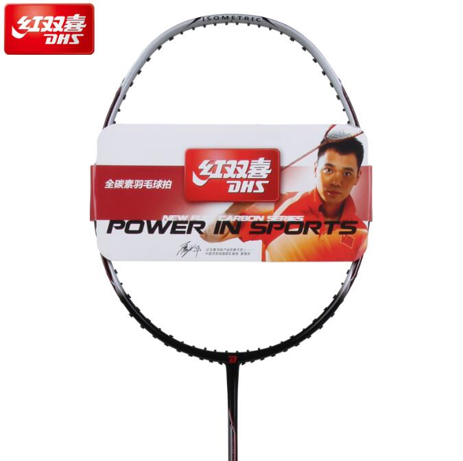 ФОТО DHS double happiness g540 g550 g560 carbon fiber badminton single