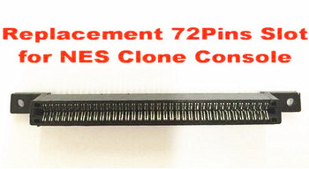 Replacement 72Pins Slot for NES Clone Console фото