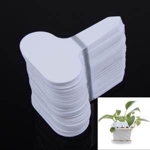 Best white plastic plant pots brands vktech 100pcsset plant for flower pot garden white plastic mightylinksfo
