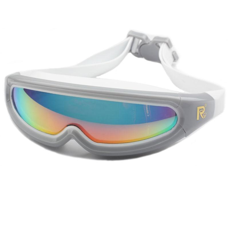 Neue erwachsene schwimmbrille wasserdichte anti-fog uv männer frauen - Sportbekleidung und Accessoires - Foto 5