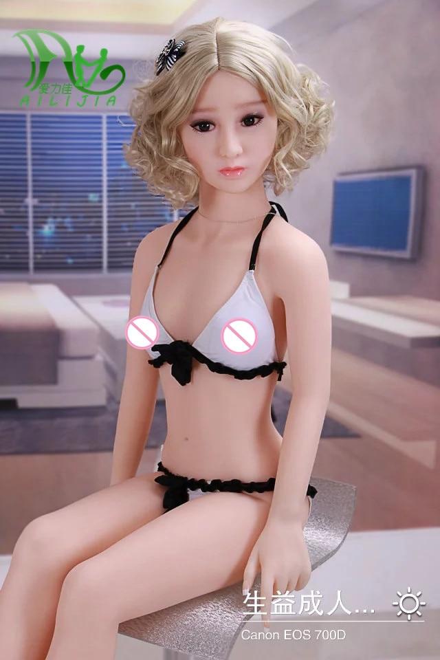 158 centimetri Reale TPE con lo scheletro in metallo piccola bambola del sesso del seno Realistico Formato della vita di amore bambola del giocattolo del sesso figa prodotti del sesso di carne
