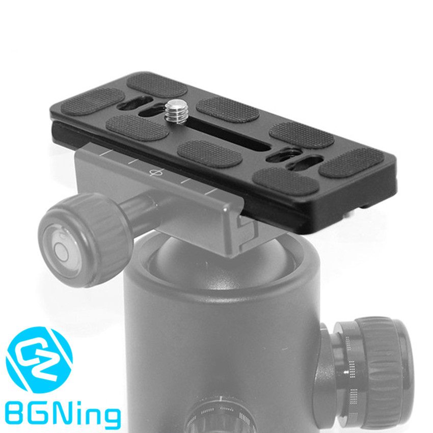 CNC Quick Release Plate PU-100 Universal Ball Head Quick Mounting Adapter SLR Tripod Accessories 100*40*10mm