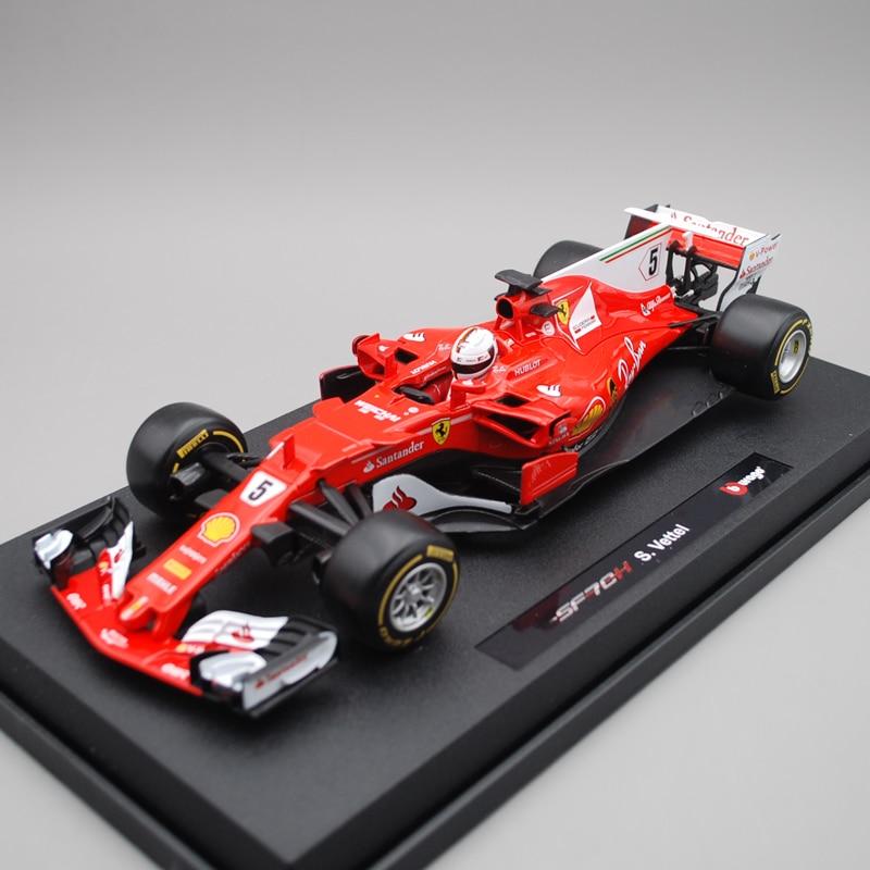 1:18 Ferari F1 2017 SF70 H Vettel No. 5 simulation racing model decoration cactus cs ept0925