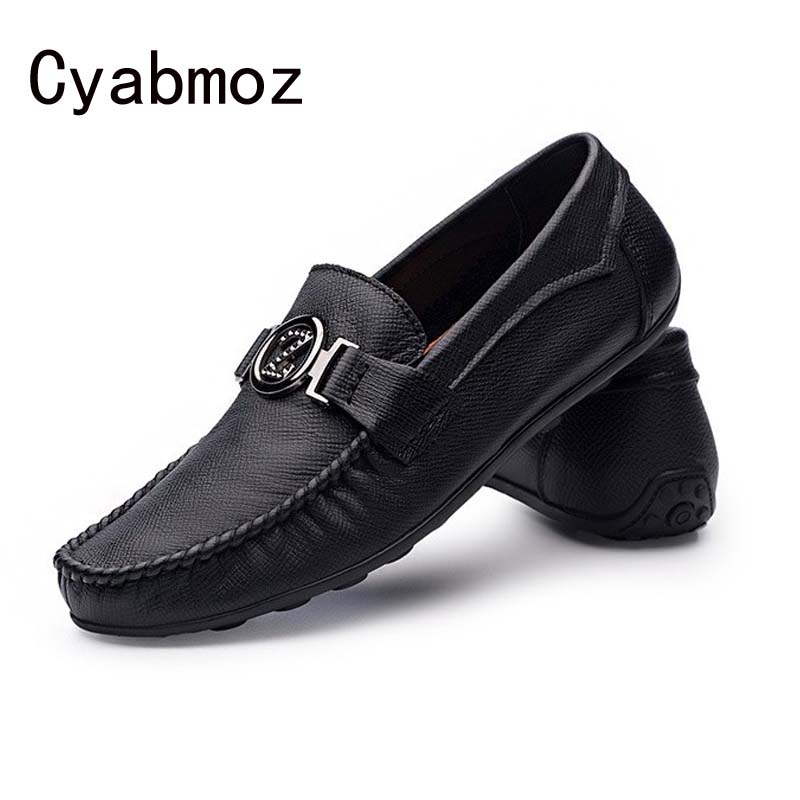 Hot Handmade Genuine Leather Men Flats,Casual Soft Leather Men Shoes,High Quality Men Loafers,Comfortable Moccasin Driving Shoes handmade genuine leather men s flats casual haap sun brand men loafers comfortable soft driving shoes slip on leather moccasins
