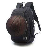 Sporttas Zwart Outdoor Fitness Training Basketbal Rugzak Man 15.6 Inch Laptop Schooltas Sport Voetbal Sporttas pack Mannelijke