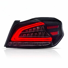 Car Styling for Tail light WRX LED Taillight 2013-UP FULL lamp turn signal with sequential indicator