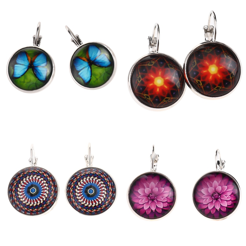 2colors 9styles Women Clip Earrings Quality Alloy Henna Time Gem Ear Hook Earring Newest Vintage Jewelry Creative Accessories Always Buy Good Jewelry & Accessories