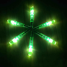 Shooting Automatically Led Lighted Nock Compound Bow Arrow Nock Ser New 6pcs